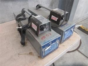 2x Weldstar Welding Electrode Ovens