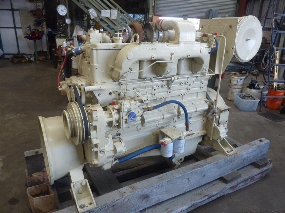 Cummins NT-855 Marine Engine (300HP)
