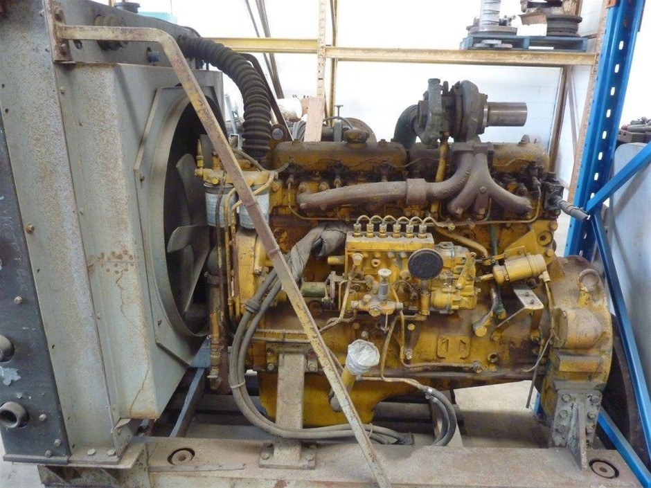 Volvo TD-70 Industrial Turbo Diesel Engine