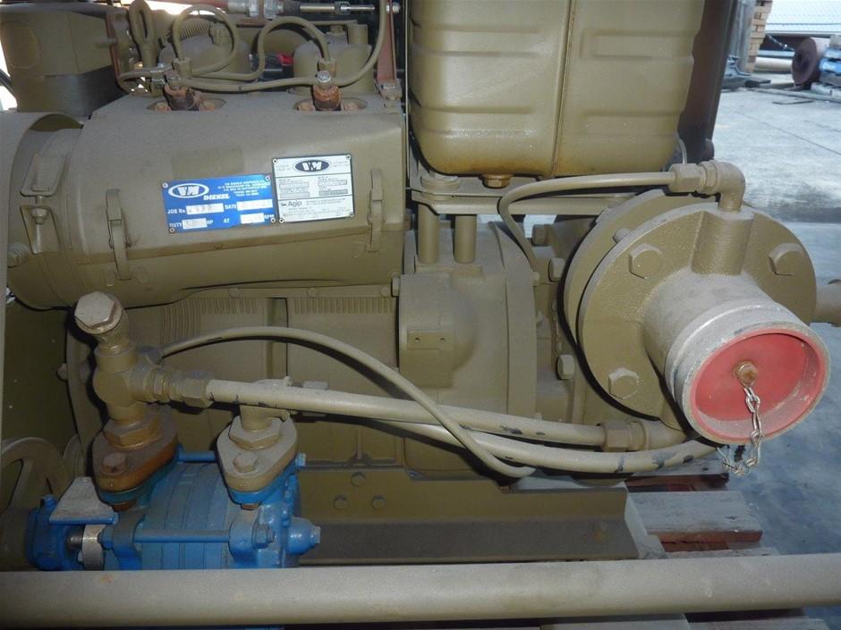 """Diesel Powered 3"""" Pump (ex-Army)"""