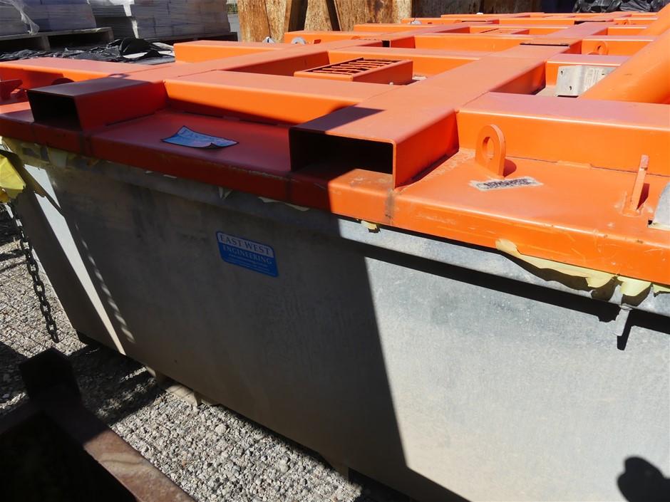 2018 East West Engineering CPC23H Concrete Washout Bin Build Da