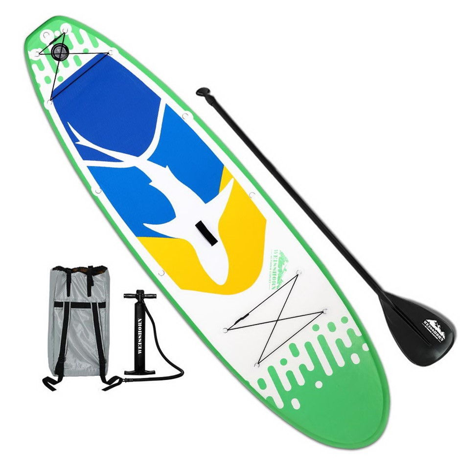 Weisshorn 10FT Stand Up Paddle Board - Green