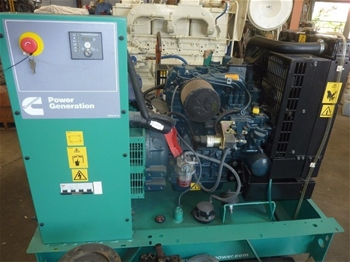 Unused Cummins C11D5 11kva Generator Set - Cummins U.K. Model