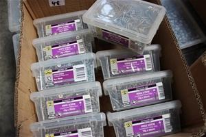 Box of 10 x Otter Hinge Screw Countersun