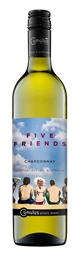 Five Friends Chardonnay 2018 (6 x 750mL) Central Ranges, NSW