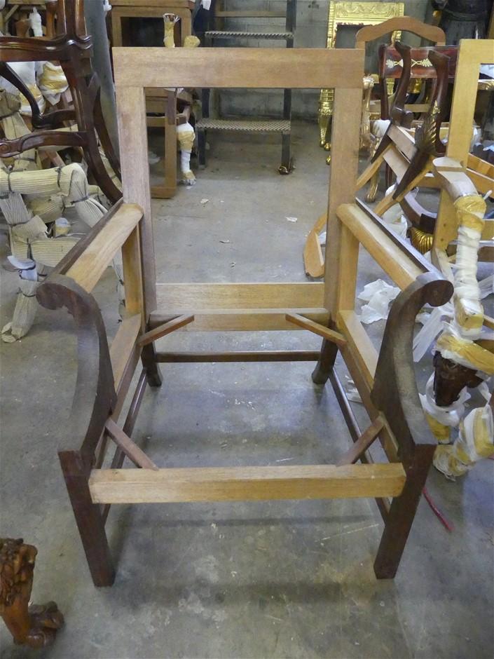 Qty 2 x Armchair Frame