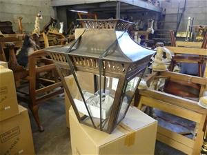 Qty 2 x Code 41 Large Bronze Light Fitti