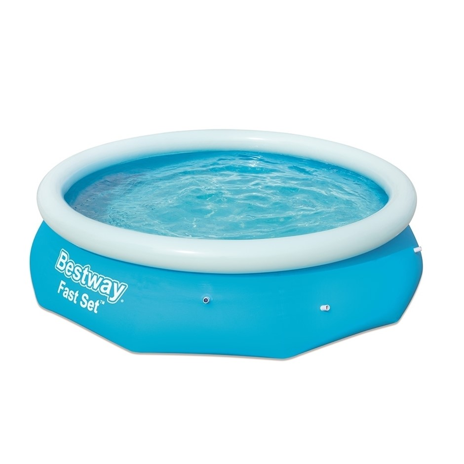 Bestway Above Ground Swimming Pool 305x76cm Fast Set Pool Filter Pump