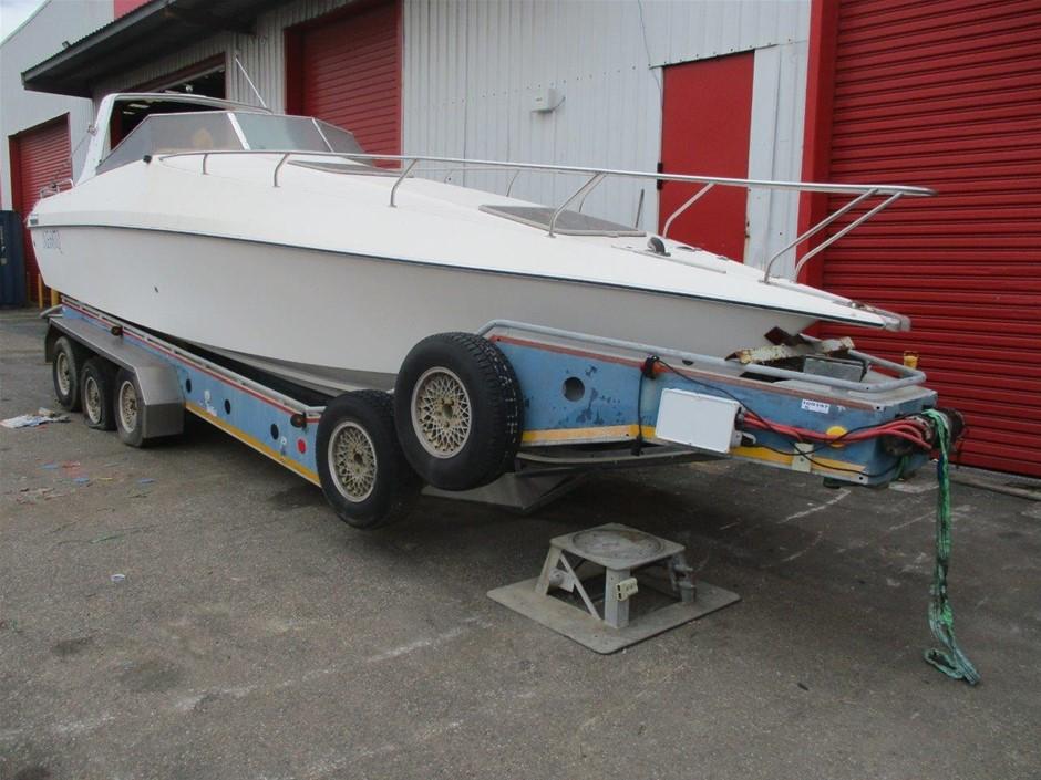 Fibreglass Boat & Trailer