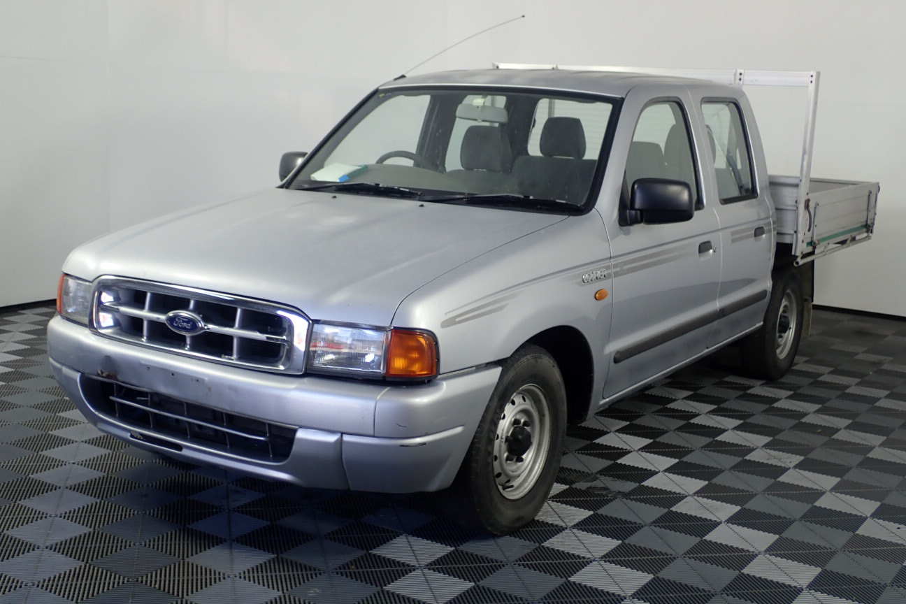 2001 Ford Courier GL PE Manual Dual Cab