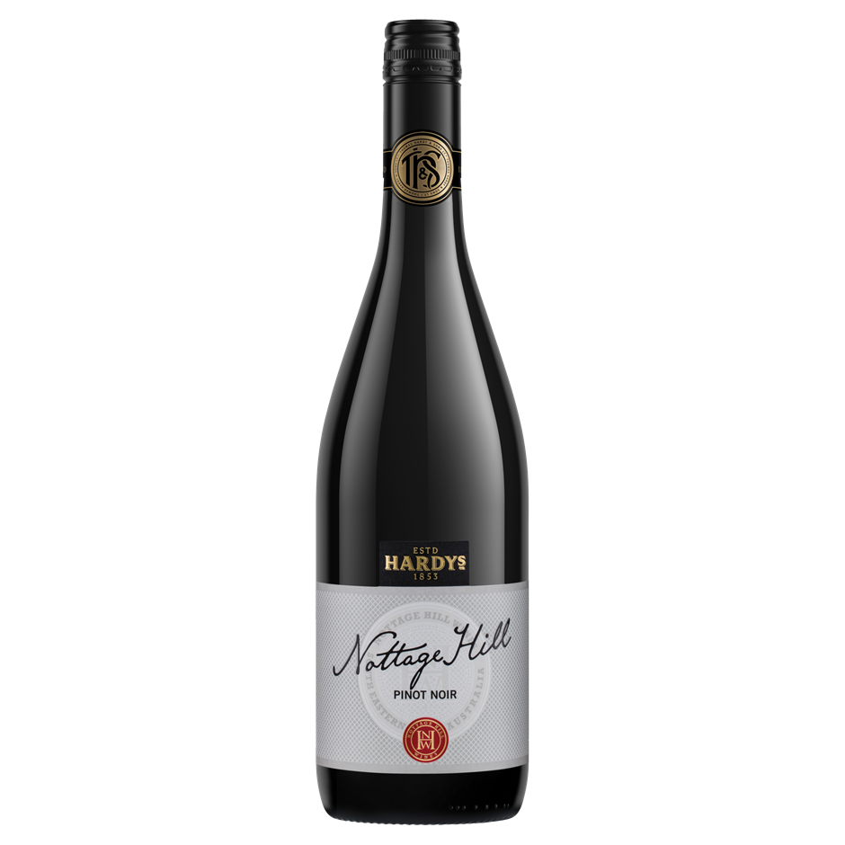 Hardy's `Nottage Hill` Pinot Noir 2018 (6 x 750mL), SE AUS.