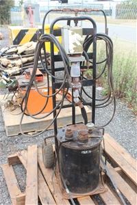 Pneumatic Power Grease Pot