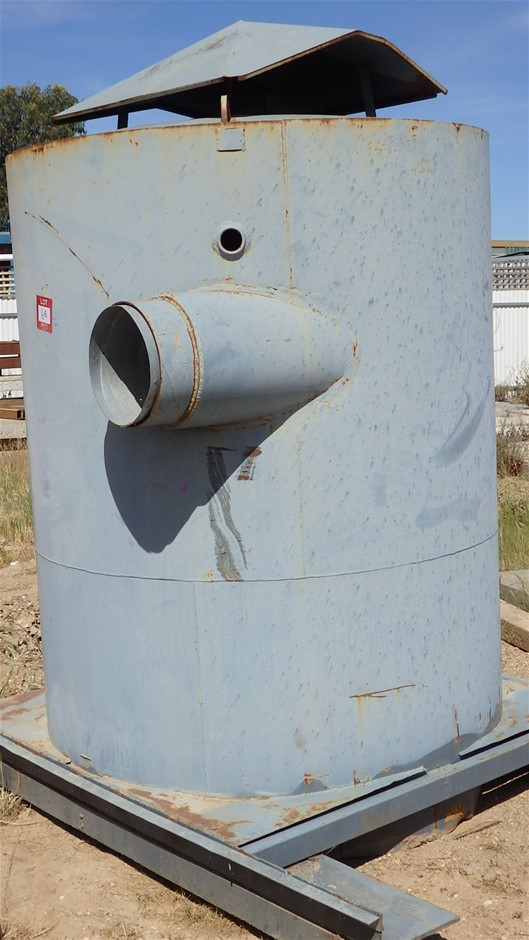 Steel Fabricated Dust Extracting Receptacle