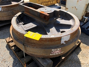 Terex Rh120 Idler Gp Used P/N 2451815 Y4
