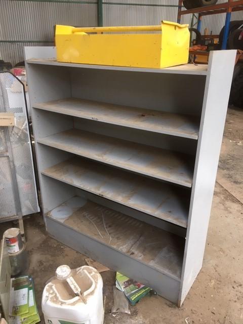 Wooden Adjustable Shelf Unit