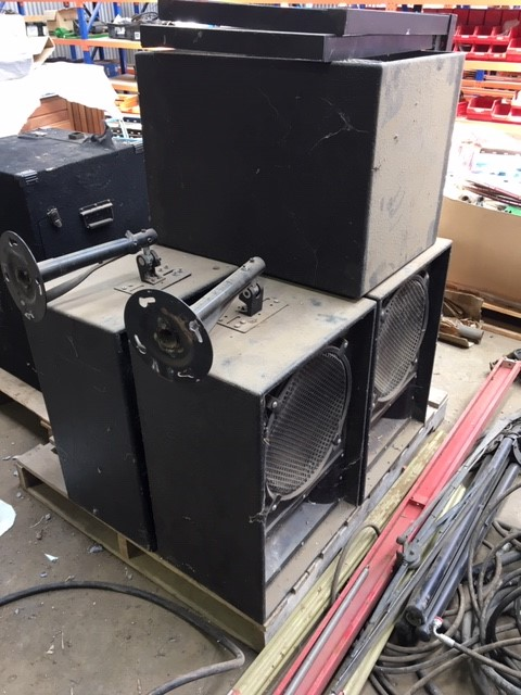 2 x Pallets Of Sound System Equipment