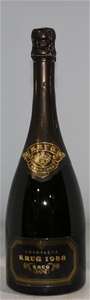 Krug Brut Champagne 1988 (1x 750ml) Fran