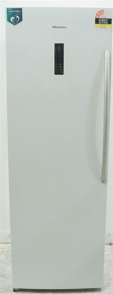 Hisense 280L Pigeon Pair Freezer (HR6VFF280D) (White)
