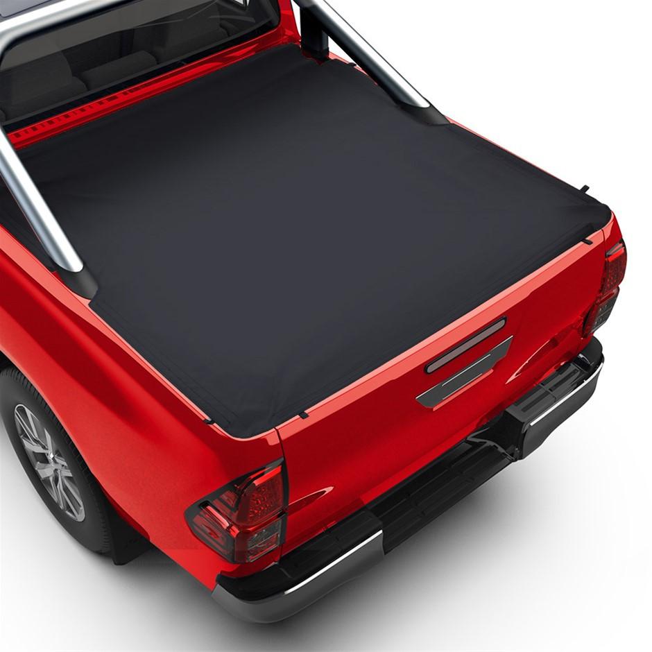 Weisshorn Fit TOYOTA HILUX SR5 A-DECK DUAL CAB Tonneau Cover Clip On UTE