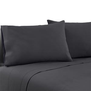 Giselle Bedding Queen Charcoal 4pcs Bed