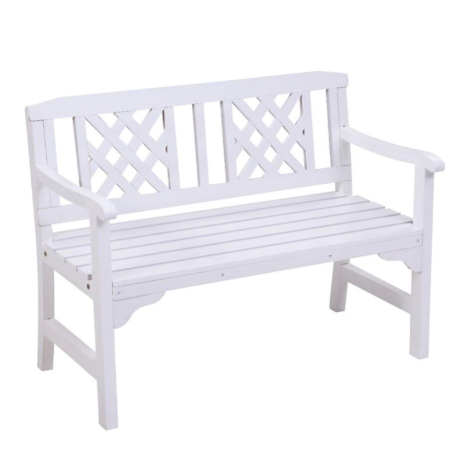 Gardeon Wooden Garden Bench Seat Patio Furniture Outdoor Lounge Chair