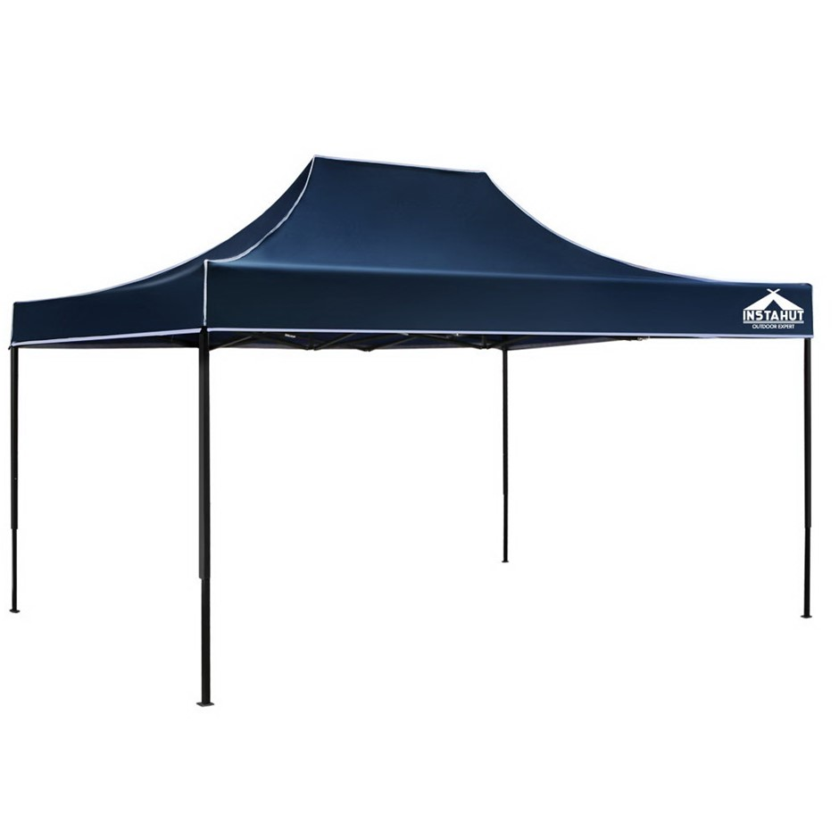 Instahut Gazebo 3x4.5 Pop Up Marquee Replacement Roof Outdoor Wedding Navy
