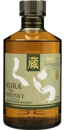 Kura Malt Rum Cask Finish (1x700mL). Japan