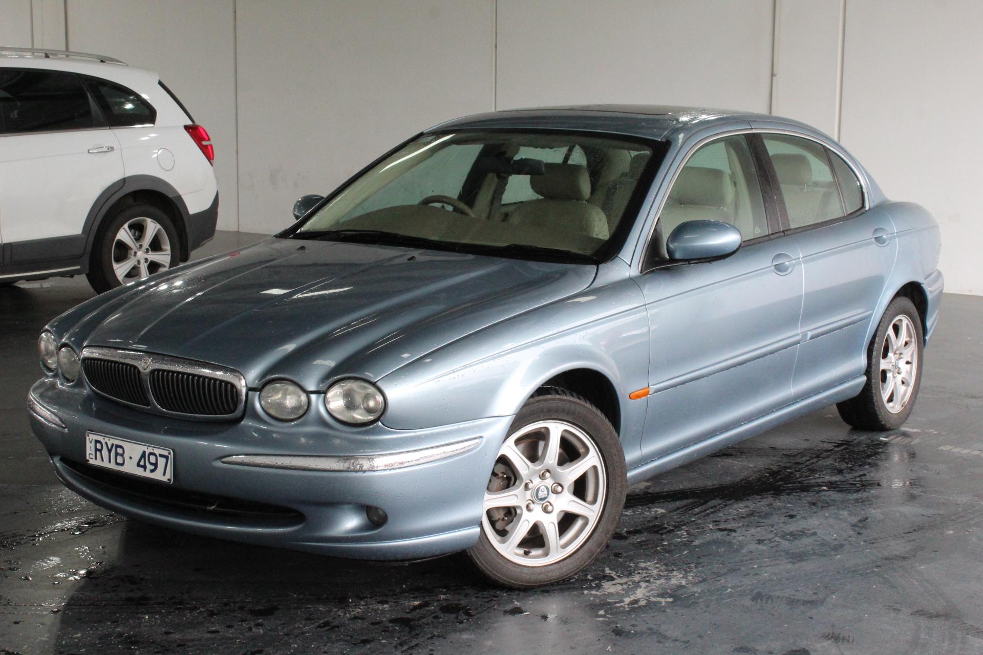 2002 Jaguar X Type X400 Automatic Sedan