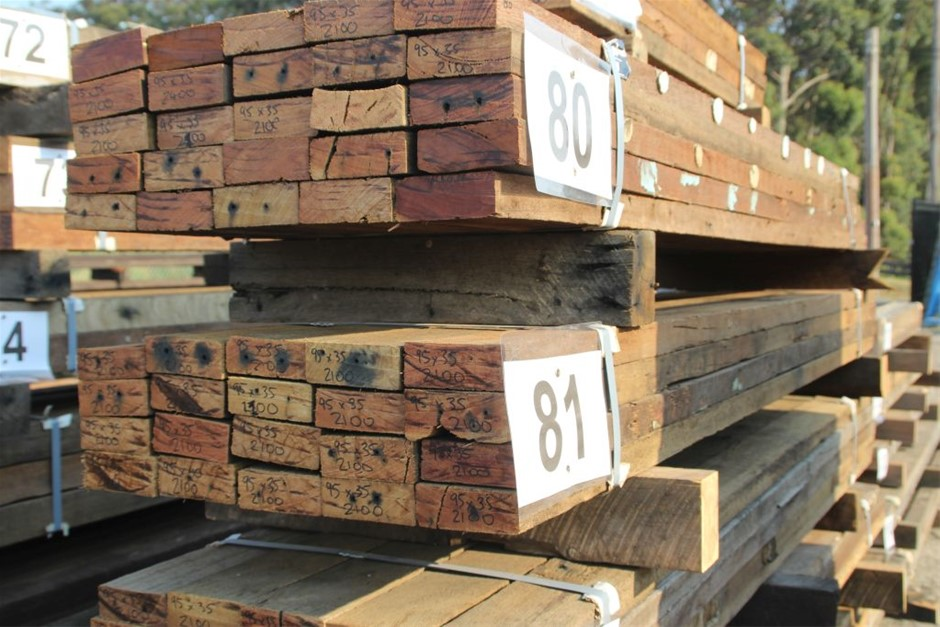 Pack of 20 Mixed Australian Recycled Timber Hard Wood