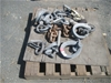 Qty of Galvanized Rope Rings and Bow Shackles