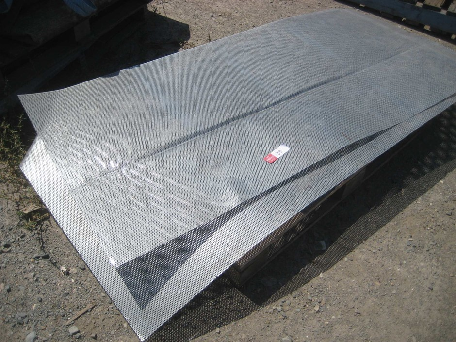 2 x Perforated Steel Sheets