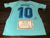 WORLD RENOWNED FOOTBALL PLAYERS - PERSONALLY SIGNED JERSEY