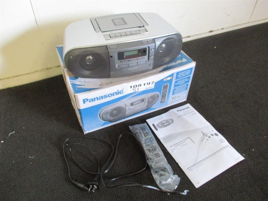 Panasonic RX-D50 Portable Stereo CD System