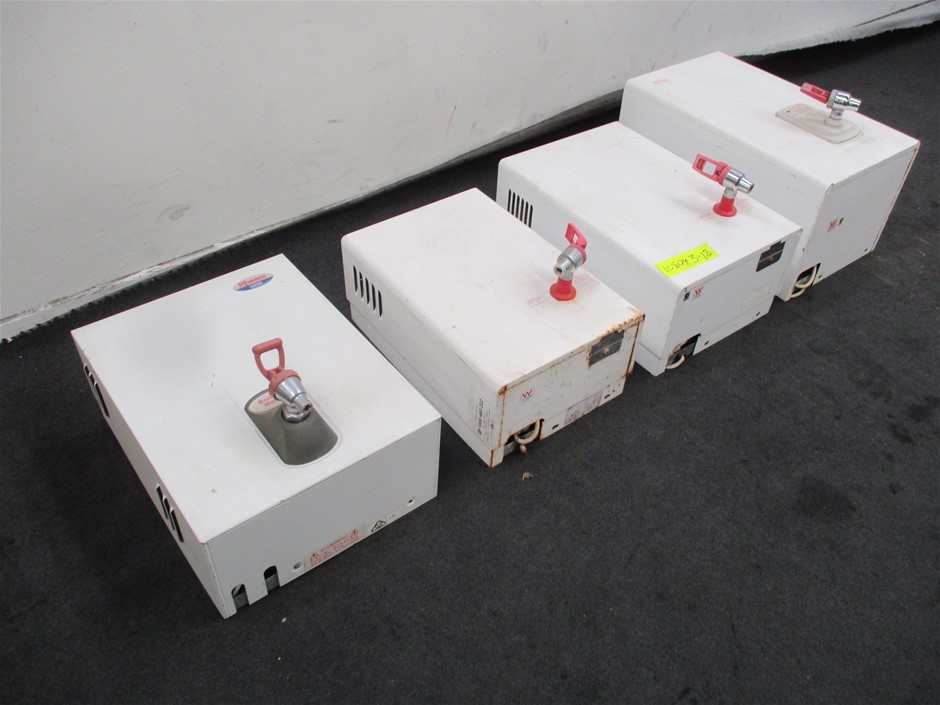 4 x Assorted Wall Mount Water Boilers