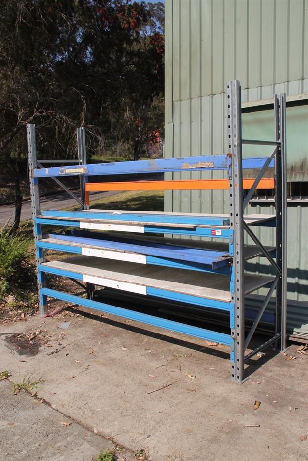Single Bay Pallet Racking 2 x End Frame, 12 x Load Beams <li