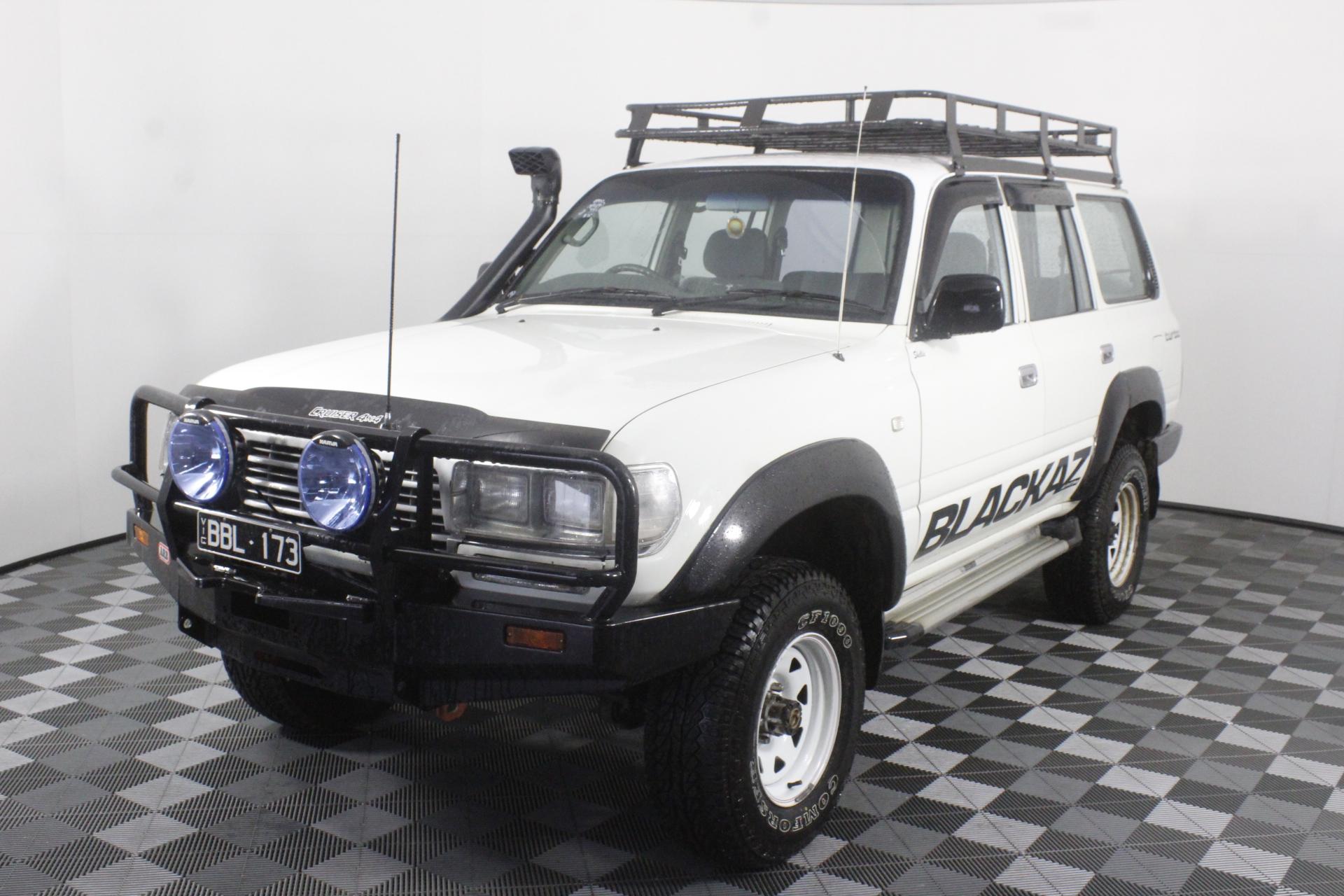 1996 Toyota Landcruiser (4x4) HZJ80 4.2 LTR T/Diesel Manual Wagon