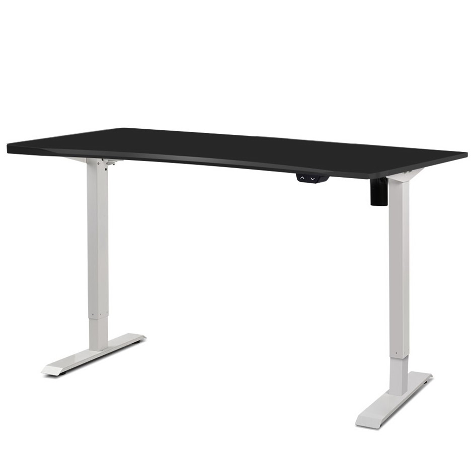 Artiss Electric Motorised Height Adjustable Standing Desk Office Table