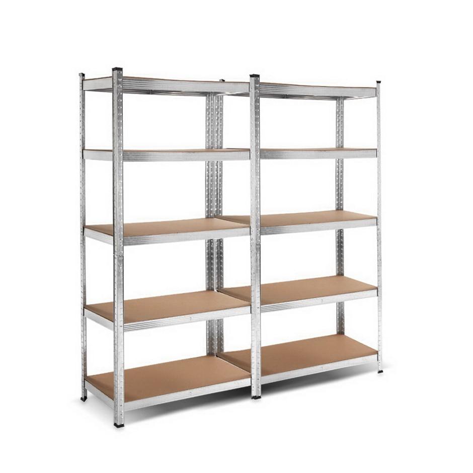 Giantz 2x0.9M Warehouse Shelving Racking Storage Garage Steel Metal Shelves