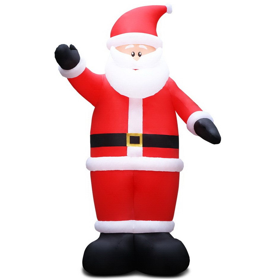 Jingle Jollys 16FT Inflatable Santa