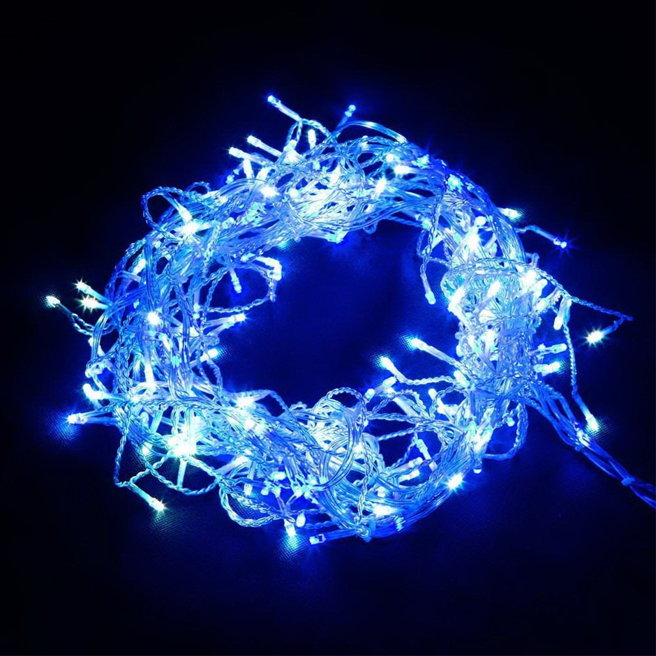 Jingle Jollys 800 LED Icicle Lights Christmas Outdoor Fairy String Party