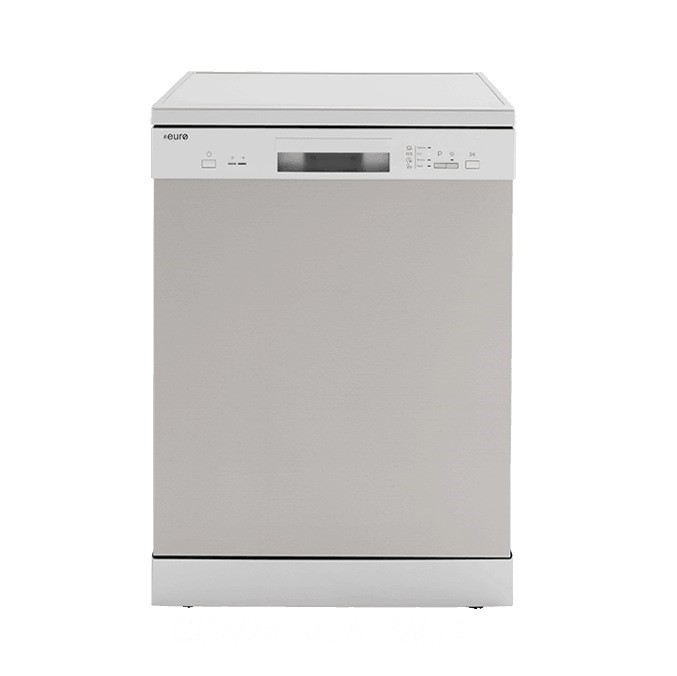 Euro 60cm Freestanding Stainless Steel Dishwasher, Model: EDV604SS