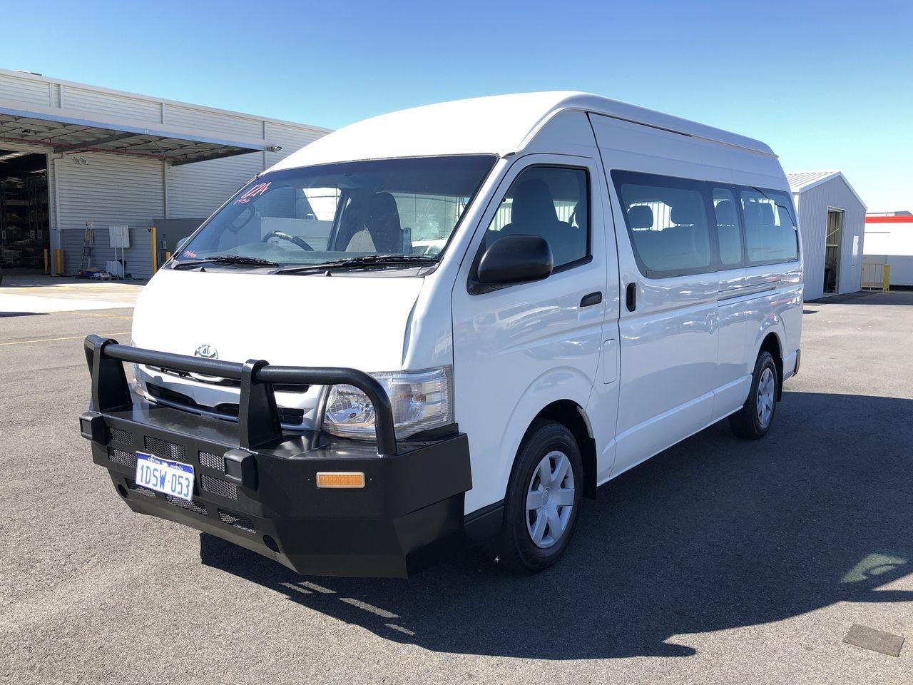 2011 Toyota Hiace Commuter KDH223R Turbo Diesel Manual 12 Seats Bus