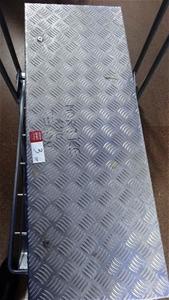 Aluminium Tool Box, Size approx: 37cm x