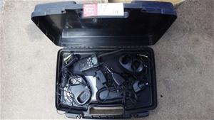 Uniden UH076SX UHF Radios in a Case Box
