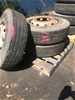 3 x Truck Wheels and Tyres