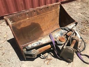 1200mm Hydraulic Tilting Bucket