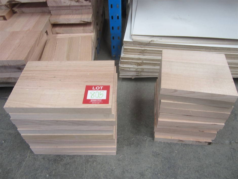 20 laminated Victorian Ash blocks. Ideal for chopping boards.