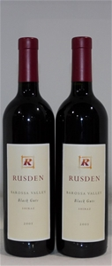 Rusden `Black Guts` Shiraz 2005 (2x 750m