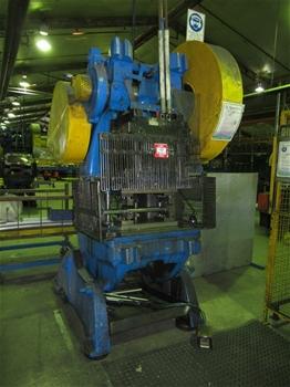 3x John Heine 206 AG Incline C-Frame Press