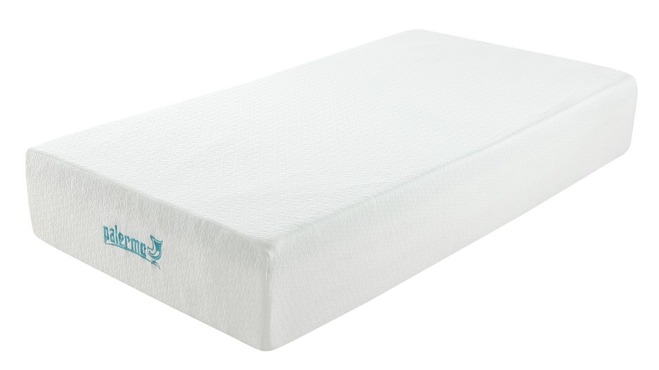 Palermo King Single Mattress 30cm Memory Foam Green Tea Infused CertiPUR